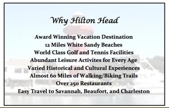 Why Hilton Head Vacation Condo Rental
