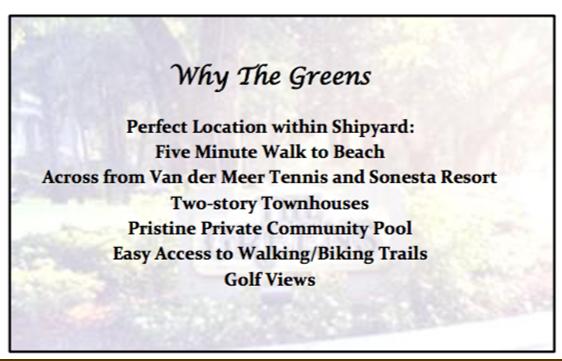Why The Greens - Shipyard
